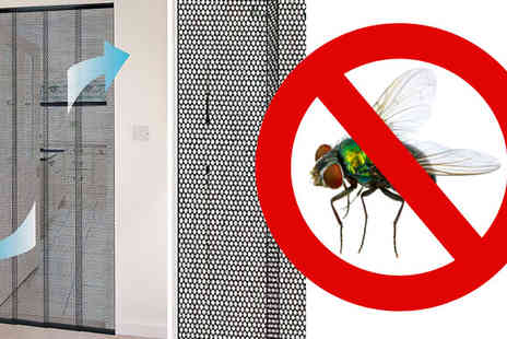 RS Communications - Four piece Insect Mesh Door Curtain and Mosquito Screen - Save 0%