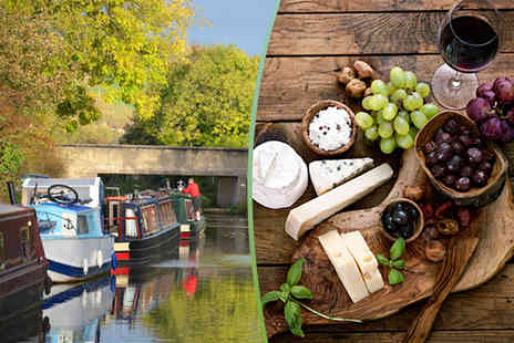Lancashire Canal Cruises -  90 minute boat cruise for two including a cheeseboard and half a carafe of wine   - Save 55%