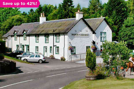 Bridge of Cally Hotel -  An overnight stay for two  in a double or twin room - Save 42%