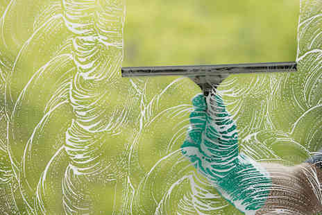 Diamond Cleaning Company - Window Cleaning for up to 14 Windows and Gutter Clearance  - Save 60%