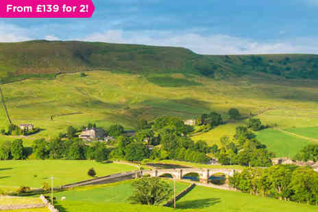 The Devonshire Fell - Overnight stay in a Garden, Fell or River and enjoy a three  course dinner, full Yorkshire breakfast, and use of the Devonshire Arms Spa facilities - Save 0%