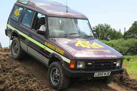Dorset 4X4 - Off Road Driving Experience  - Save 66%