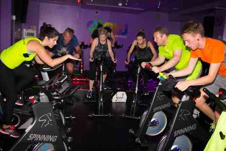 Glow Fitness - Ten Spinning or HiiT Classes  - Save 68%