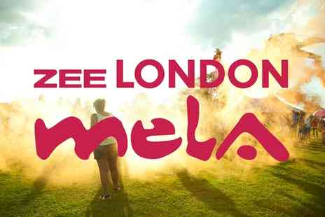 LONDON MELA - Entry to ZEE London Mela  For Family and Adults, 6 September  - Save 0%