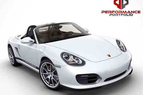 Performance Portfolio - Driving Experience in a Porsche Boxster or Nissan GT R   - Save 63%