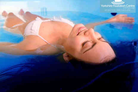Yorkshire Flotation Centre - 75 Minute Floatation Therapy Session and Consultation  with Infra Red Sauna Session  - Save 62%