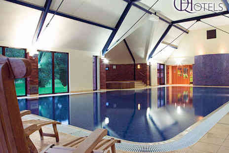 Aldwark Manor Golf & Spa Hotel - Spa Experience with Drink and Pastry Each for Two   - Save 70%