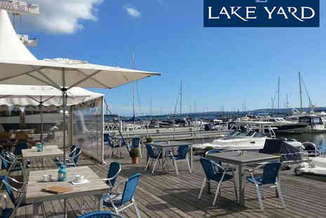 The Lake Yard Club - Moules Mariniere with Glass of Wine Each for Two  - Save 46%