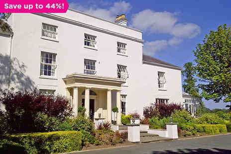Fishmore Hall Hotel - Georgian Hall Stay in Stunning Shropshire - Save 44%
