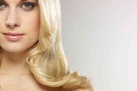 DnK Hair & Beauty Salon - Half or Full Head of Highlights with Conditioning Treatment and Blow Dry - Save 60%