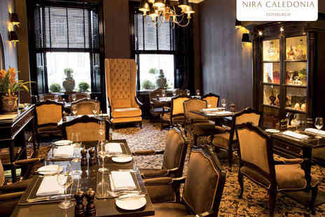 Nira Caledonia  - Sirloin Steak with a Side and Glass of Prosecco Each, and Bread and Olives to Share for Two - Save 53%