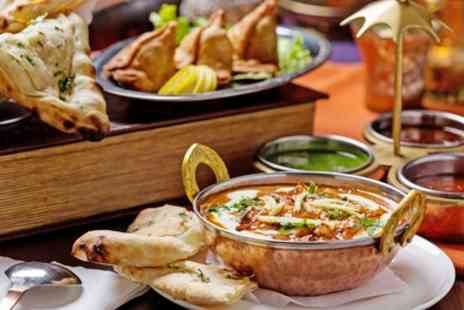 Regales - Two Course Indian Meal With Sides For Two or Four  - Save 41%
