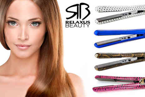 Flostream - Relaxus Hair Straighteners in a Choice of Designs - Save 20%