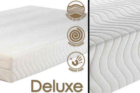 My mattress Online  - Deluxe 4000 Mattress in a Choice of Sizes - Save 55%