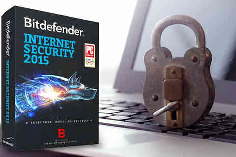 Software 4 All  - BitDefender Internet Security 2015 Three Users One  Year Licence - Save 63%