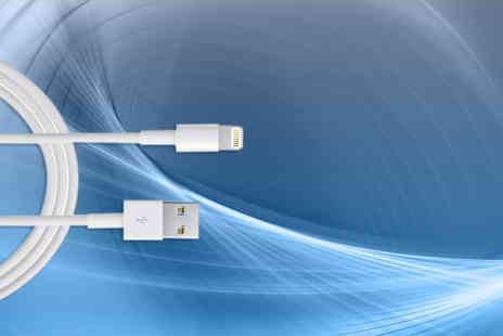 eGlobal Shoppers -  2m iPhone and iPad charger cable  - Save 84%