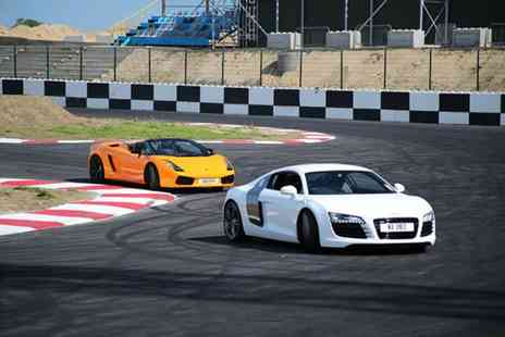Supercars  - Three laps driving a supercar and Two passenger sighting laps   - Save 54%