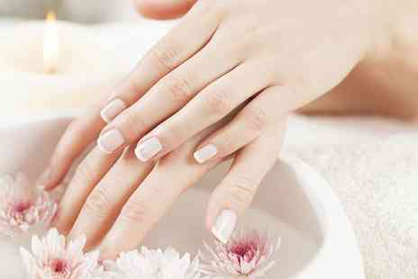 Radiance - Manicure or Pedicure With French Tips  - Save 0%