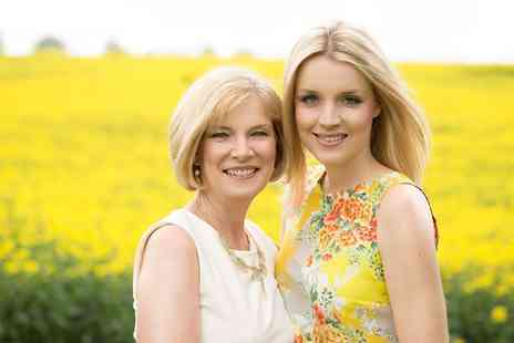 Kate Sharp Photography - Mother and Daughter Makeover and Photoshoot  - Save 90%