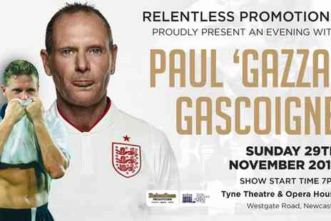Wraith Promotions - Evening with Paul Gascoigne  29 November - Save 0%
