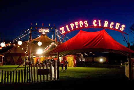 Zippos Circus - Side View Ticket for Zippos Circus - Save 51%