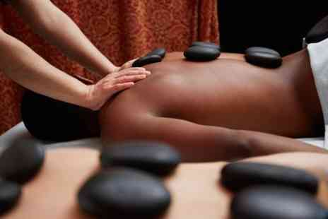Madame butterfly hair and beauty  - Full Body Hot Stone Massage with Optional Bamboo Stick Treatment  - Save 73%