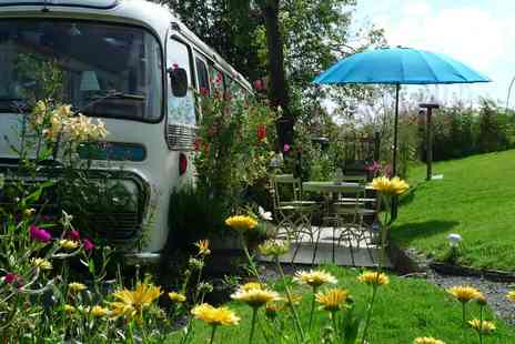 Majestic Bus - Two nights in a converted Panorama Bus in Herefordshire w/ welcome cake - Save 35%