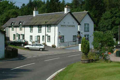 Bridge of Cally Hotel - One night Perthshire stay for 2 inc breakfast & wine - Save 54%