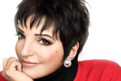 Roccobuonvino Productions - An Evening with Liza Minnelli on 22 September  - Save 50%