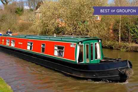 Claymoore Canal Holidays - Day Canal Boat Hire For Up to 12 - Save 0%