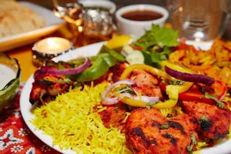 Rajdhani Restaurant - Two Course Indian Meal for Two - Save 50%
