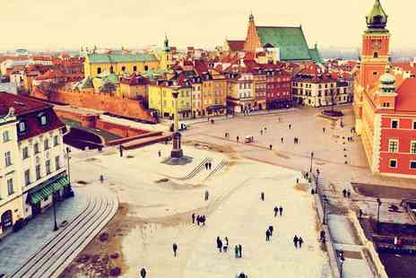 Hilton Warsaw City Centre -  Two, Three or Four Nights stay with breakfast and flights - Save 0%