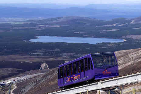 CairnGorm Mountain - Two adult tickets for the CairnGorm Mountain Funicular Railway - Save 57%