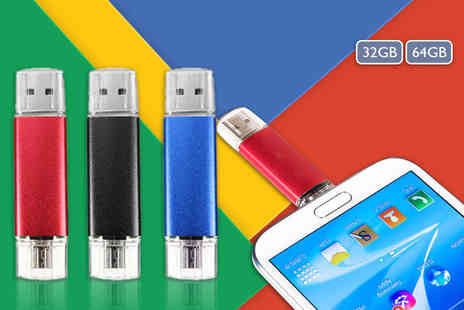 Electronics and Gadgets Direct -  32GB 2.0 flash drive - Save 64%