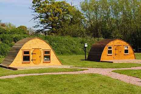Riverside Park - Three Night Stay In Snugs Or Hobbit Huts For Three - Save 0%