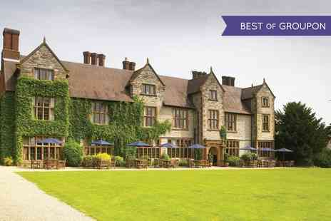 Billesley Manor Hotel - One or Two Nights Stay For 2 With Breakfast, Dinner, Wine And Leisure Access  - Save 0%