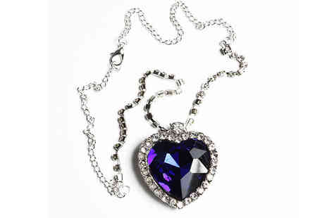 Impress Gadgets - Heart of the Ocean Replica Necklace - Save 70%