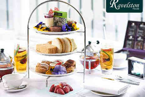 Ravelston House - Afternoon Tea and Choice of Cocktail for Two - Save 57%
