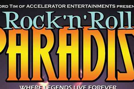 H R H Entertainments - Tickets to Rock Roll Paradise - Save 50%