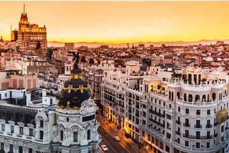 Rafael Hoteles Ventas - Two, Three or Four Night stay in Madrid in a Four Star hotel with breakfast flights  - Save 0%