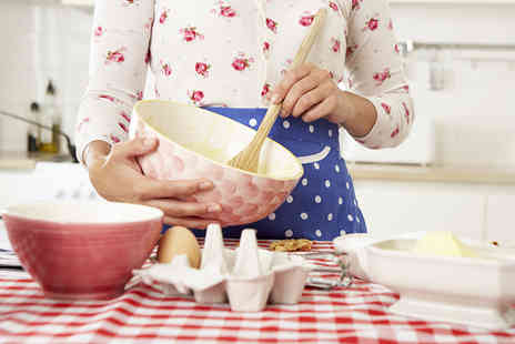 The Sherwood Cookery Workshop - Baking workshop inspired by The Great British Bake Off  - Save 81%