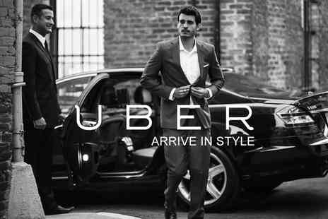 Uber - £3 For £15 Towards a London Car Journey  - Save 80%
