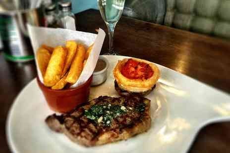 Acorn 30 Urban Bar - 8oz Sirloin Steak With Sides and Prosecco for Two - Save 53%