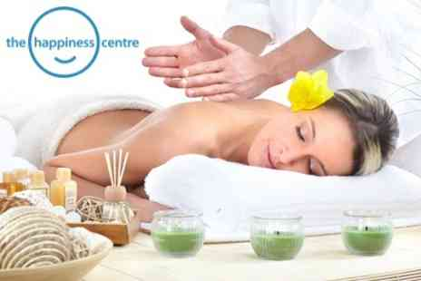 The Happiness Centre - 90 Minute Deep Tissue and Aromatherapy Massage Treatment for £29 - Save 71%