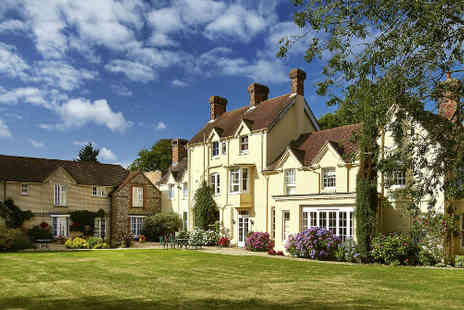 Esseborne Manor Hotel - Hampshire Manor stay for two with dinner  - Save 40%