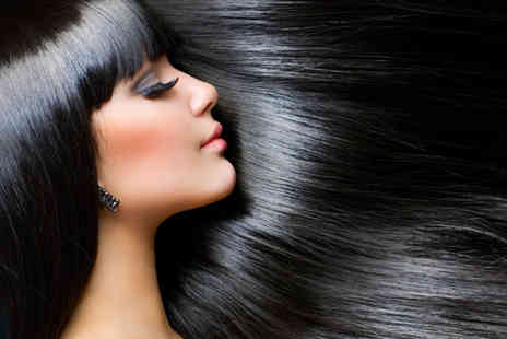 City Hair and Wax - Brazilian keratin blow dry treatment - Save 84%