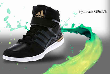 Brand Shopping Direct - Pair of Adidas hi top trainers - Save 73%