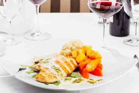 The Davenport - Two Course Meal With a Glass of Wine and Live Show Entry For up to Eight   - Save 0%
