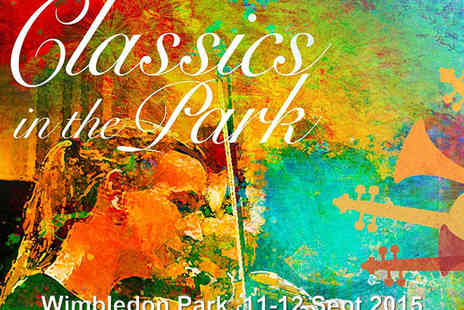 Wimbledon Park - Classics in the Park Performed by City of London Sinfonia - Save 50%