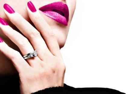Hanna Mays Beauty Room - Shellac Manicure, Pedicure  - Save 47%